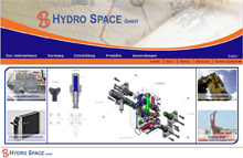 Launch of the new version of the site www.hydro-space.de